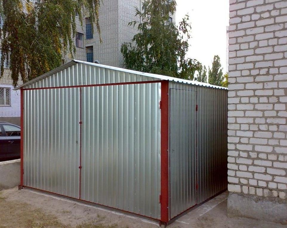 Размеры индивидуального гаража