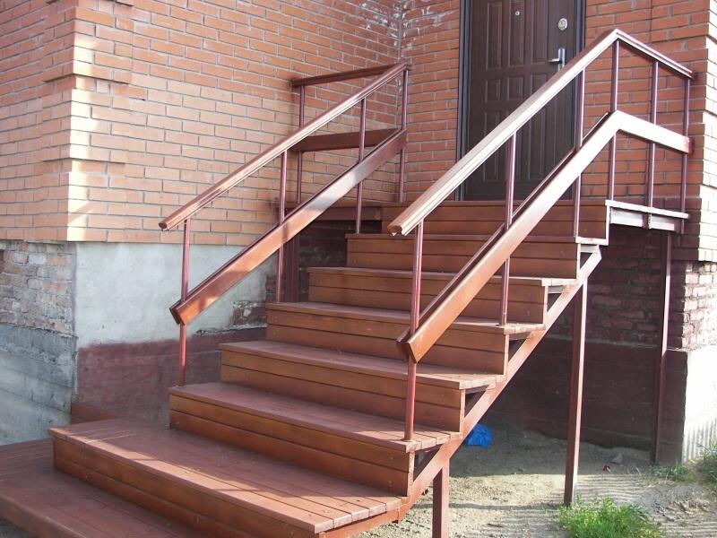 входные металлические лестницы цены