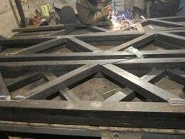 Строительные металлоконструкции - сварка и монтаж, фото