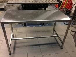 Столы для приготовления пищи, промышленные мойки и т.п.