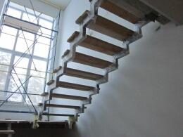 Лестницы - сварка каркасов, монтаж, отделка