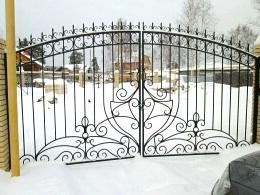 Кованые ворота - изготовление и монтаж в Воронеже